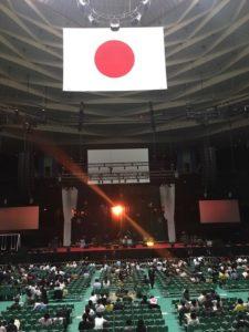 武道館内のライブ会場