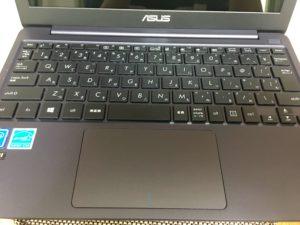 使ってわかったASUSのVivoBook E203MA-4000のキーボード