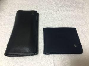 ベルロイと他の財布の比較